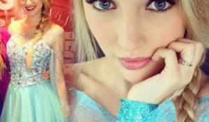 Każda dziewczynka chce wyglądać jak Elsa i mieć makijaż Elsy