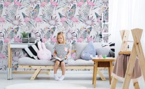 Tapety flamingi – wprowadź do swojego mieszkania nieco wakacyjny klimat