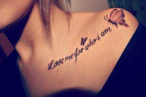 Tatuaż napisy sentencje – jakie są zalety takich tatuaży?