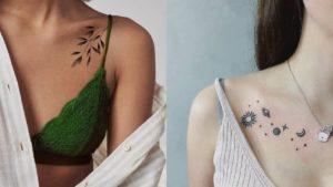Tatuaże na obojczyku – świetna propozycja dla kobiet